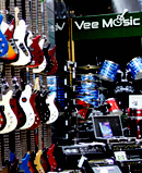 vee music guitar shop
