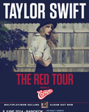 Taylor Swift Red Tour 2014 Presented by Cornetto
