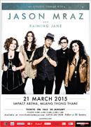 JASON MRAZ live in Bangkok