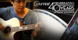 Crafter PG-Mahogany Plus (Celebrating 40 Years of Great Acoustics)