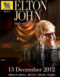 Elton John And His Band Live in Bangkok 2012
