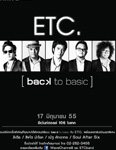 ETC [back to basic] Concert