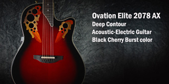 Ovation Elite 2078 AX Deep Contour