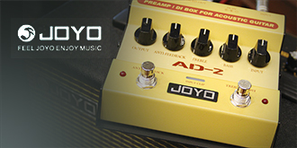 JOYO acoustic guitar pedal preamp DI box