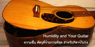 Humidity and Your Guitar