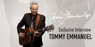 Tommy Emmanuel Exclusive Interview