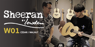 รีวิว Sheeran Guitar W01