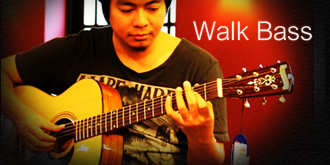 Walking Bass Guitar Lesson